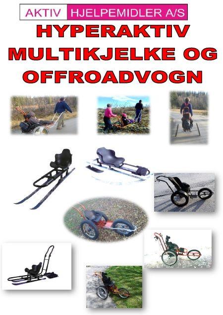 PAKKELØSNINGER MULTIKJELKE/VOGN - AKTIV HJELPEMIDLER