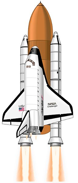 http://www.clipartlord.com/wp-content/uploads/2013/07/space-shuttle4.png  Or maybe this one for the door...