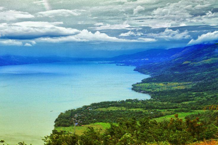 Singkarak Lake, West Sumatra, Indonesia