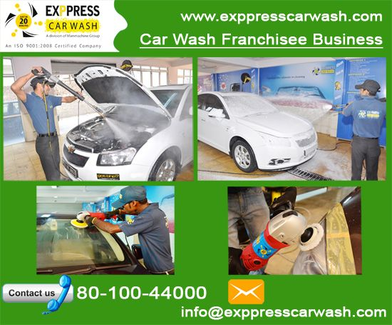 Run a Successful Car Wash Franchise with a Reputed Car Wash Company