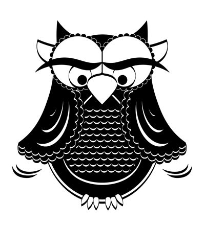 Black owl :)
