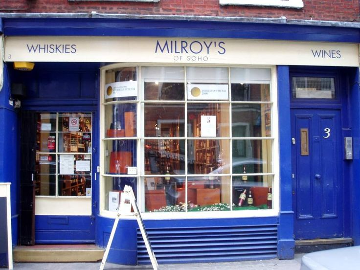 Milroy's of Soho is a great place to drink in London.