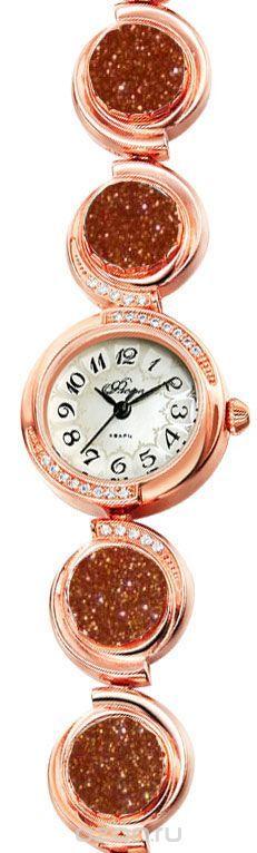 Часы женские наручные Mikhail Moskvin Флора, цвет: золотистый. 1138B8B1 Авант. золот.