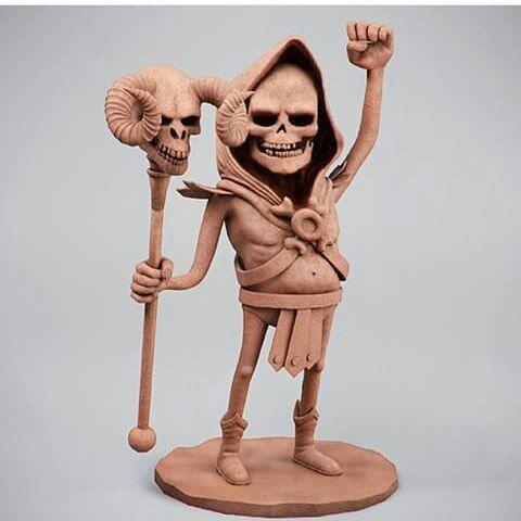 Esqueleto (He-Man) (Concept by Marco Furtado) ;) by guzzsoares