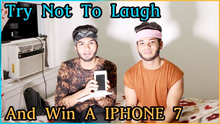TRY NOT TO LAUGH CHALLENGE (iPhone 7 Giveaway)