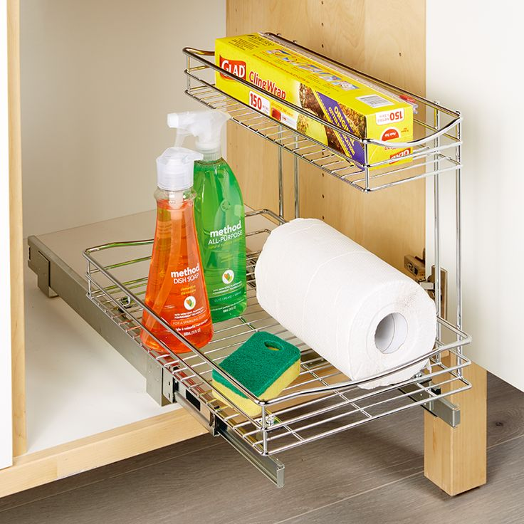 Store&Order | Sliding Side Stacker Organiser 28 x 45 x 31cm