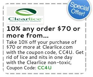 Clearlice coupon