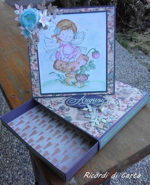 Ricordi di Carta : TWISTED EASEL CARD CON CASSETTO