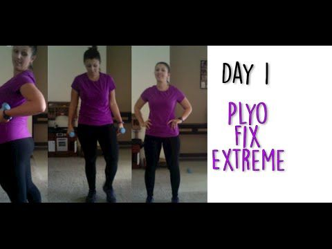Plyo Fix Extreme - 21 Day Fix EXTREME Day 1 - YouTube