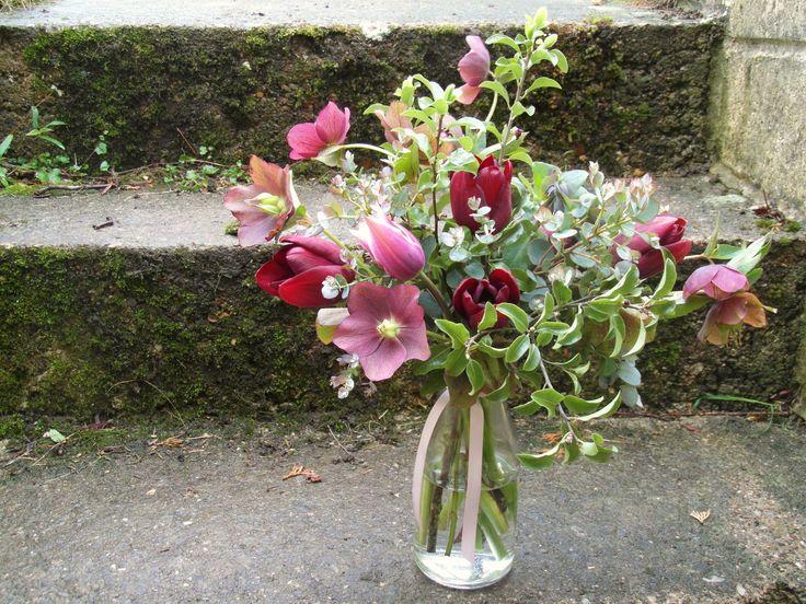 British grown, springtime flowers.