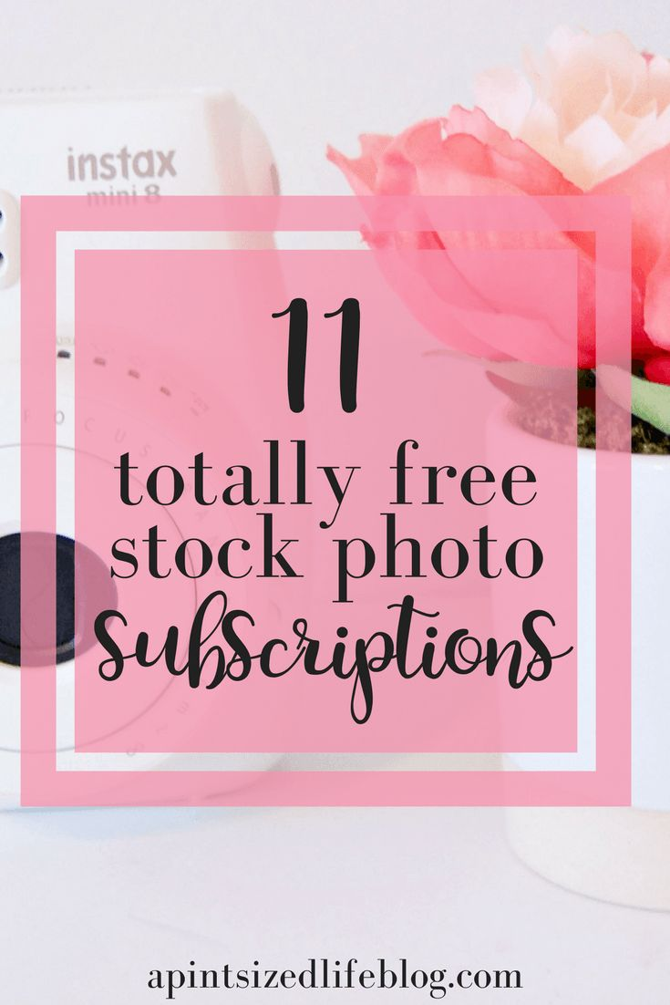 11 subscription based girly stock photo sites!