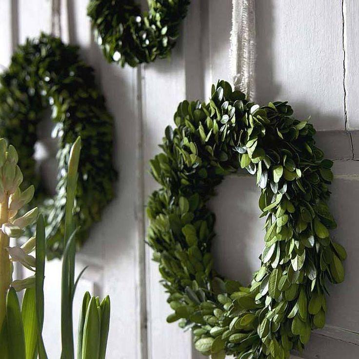 spring buxus wreath by rowen & wren | notonthehighstreet.com