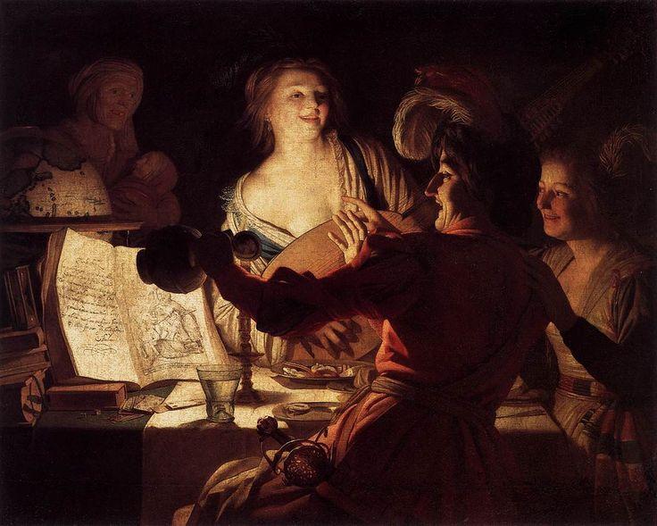 Honthorst, Gerard van - Merry Company - 1623 -