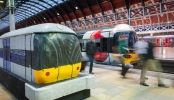 A Train Made Entirely Of Cake Arrives At London's Paddington Station