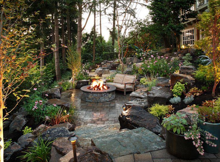 Backyard Hardscape Ideas Backyard Landscape Design