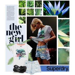 The New Girl- Superdry