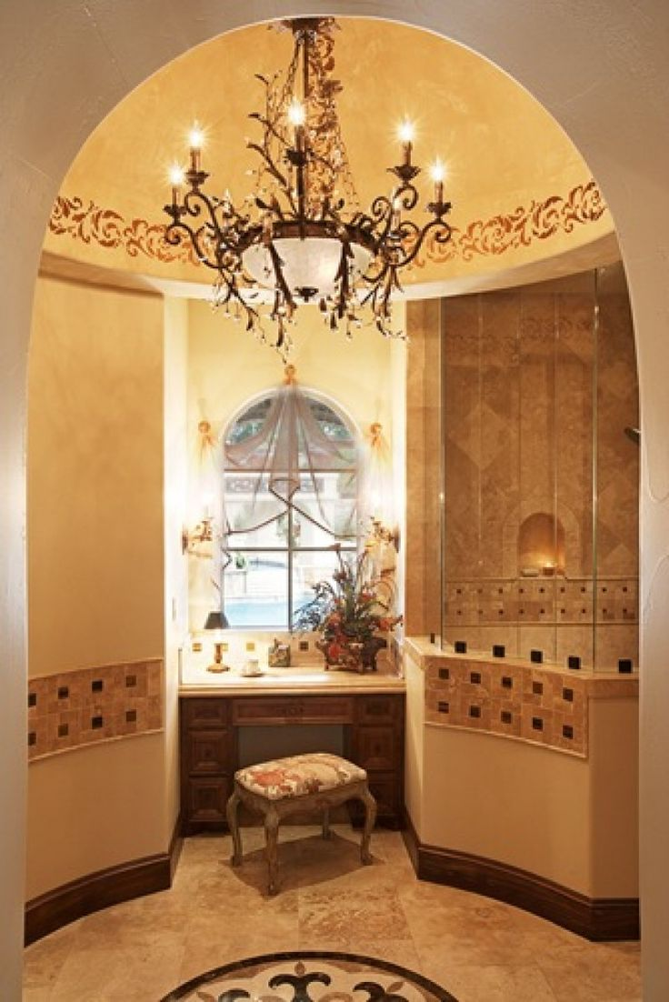 Tuscan decor bathroom - 105 Golden Bear Vanguard Studio Inc Austin Tx Tuscan Bathroommediterranean Bathroommediterranean Decormaster
