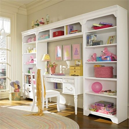 Dana Above Desk Wall Storage Unit With Drawers By Young America By Stanley Bookshelves