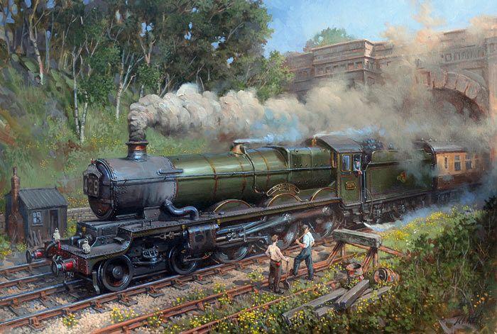 Fine Art Prints of Railway Scenes & Train Portraits - Gladiator by David Noble