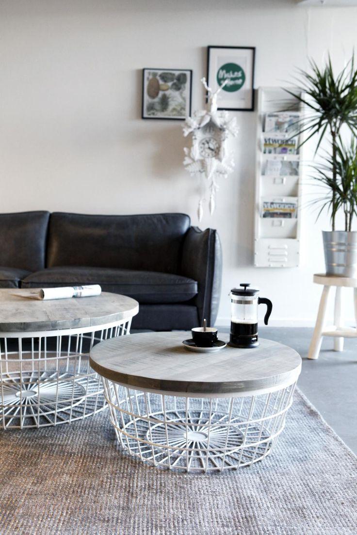Salontafel New Glory - 70cm - Wit - By-Boo koopt u bij LiL.nl. ✓ Avond- en zondaglevering  ✓ Voor 23:00 besteld, morgen in huis ✓ Gratis verzending vanaf €20.