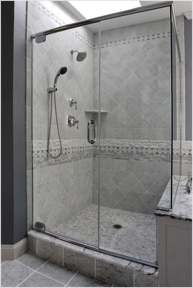 34 best floor tile trim on shower wall images on pinterest
