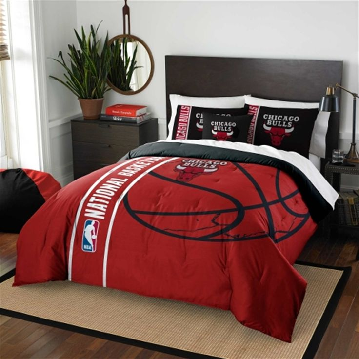 Chicago Bulls Full Comforter Set Comforter Sets Full