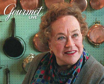 "Gourmet Live Says ""Happy Birthday"" to Julia Child"