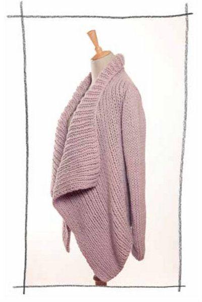 7c7e8e0b0 Erika Knight Maxi Wool Tuesday Sweater Knitting Pattern PDF ...