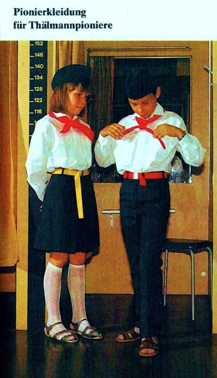 DDR Pioniere,DDR Kinder ,Pionierkleidung für ...
