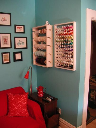Sewing thread organization