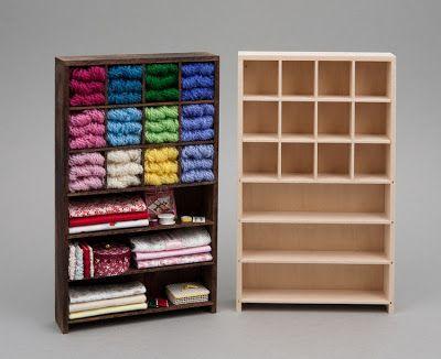 Accesorio de almacenaje, perfecto para tienda en miniatura de juguete   -   Store Fixtures  Perfect for the toy store!