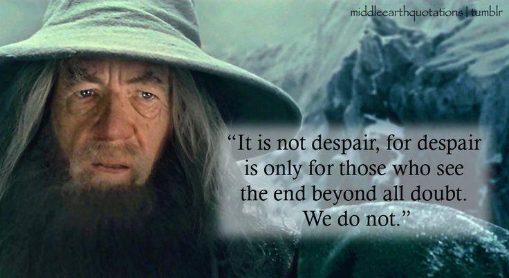 Elrond Quotes: Gandalf Quotes. QuotesGram