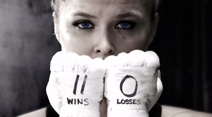 Undefeated champ Ronda Rouse