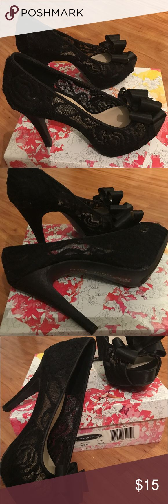 Chinese Laundry lace shoes 👠 8.5 Chinese Laundry lace shoes 👠 8.5 Chinese Laundry Shoes Heels