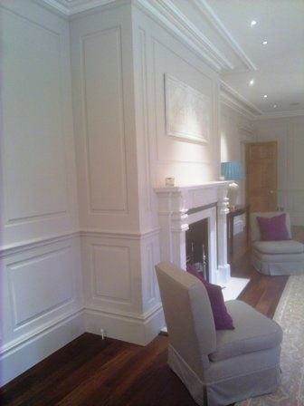 Floor To Ceiling Wall Panelling Bellefield House Feature