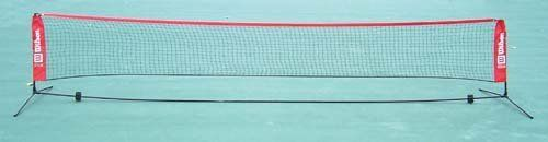 Wilson Ez Tennis Net - 16.5' by Wilson. $270.65. The versatile 10' net raises to the height of a badminton net in secondsCan be used for depth drills for experienced players tooEZ setup and take down16.5' net allows more players, more funTo order the 10' long net,