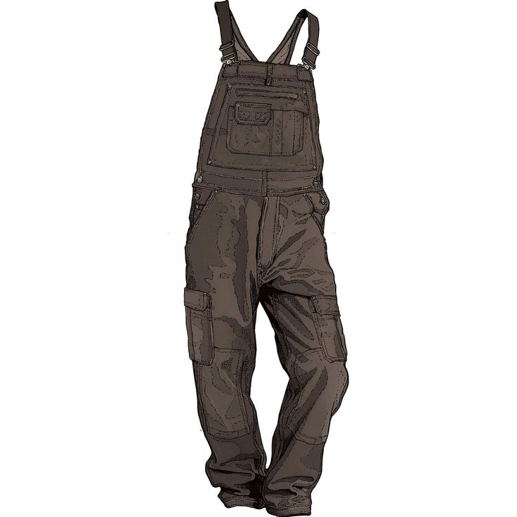 Duluth's Ultimate Fire Hose? Work Overalls are the best you'll ever find. Packed with features like 17 total pockets, including two for knee pads!