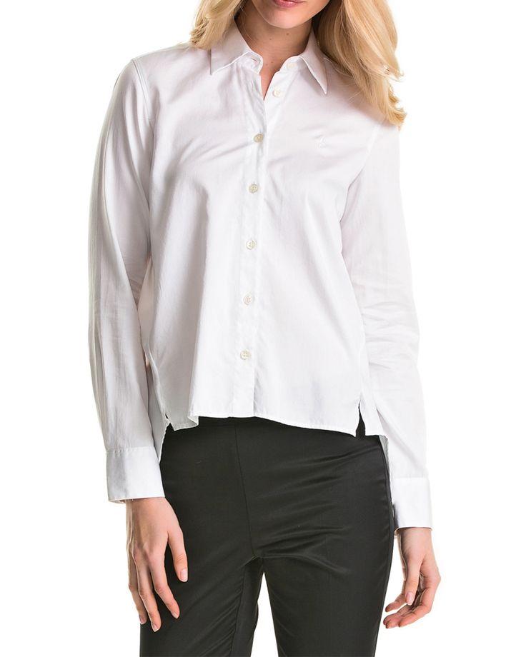 Morris Lady Madeleine shirt white Skjortor på Zoovillage