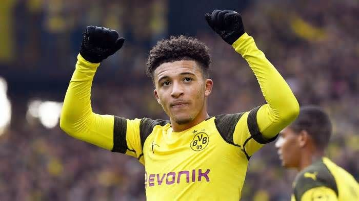Latest News For Transfer Talk Psg To Challenge Manchester United For Jadon Sancho Manchester United Manchester Challenges