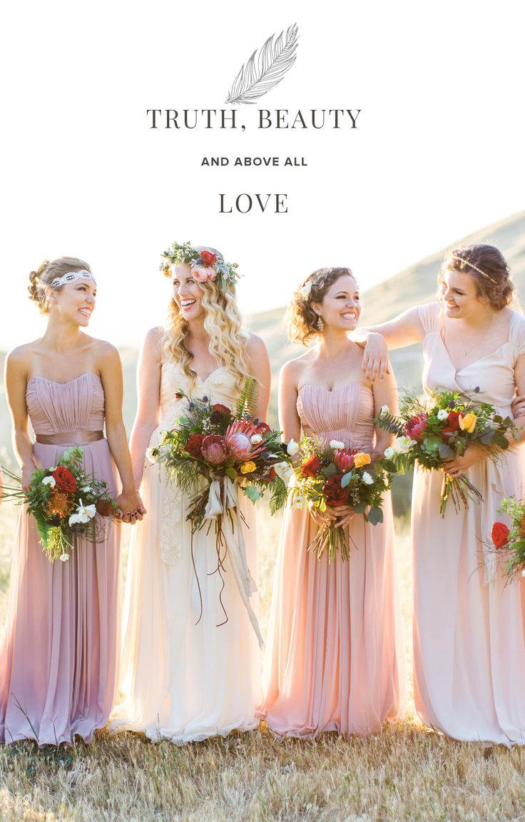 197 best vintage weddings images on pinterest marriage vintage the easiest way to mix and match bridesmaid dresses weddington way ombrellifo Images