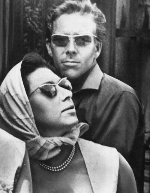 Ever so cool:  The Earl & Countess of Snowdon (Princess Margaret and her husband, Antony Armstrong-Jones)