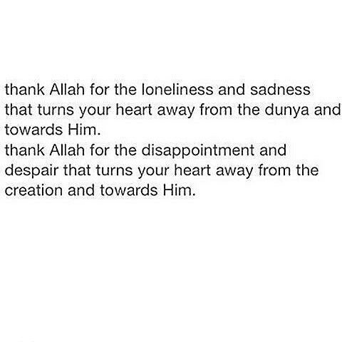 Allah is all you need, and with Him you are safe. Alhamdulillah ❤