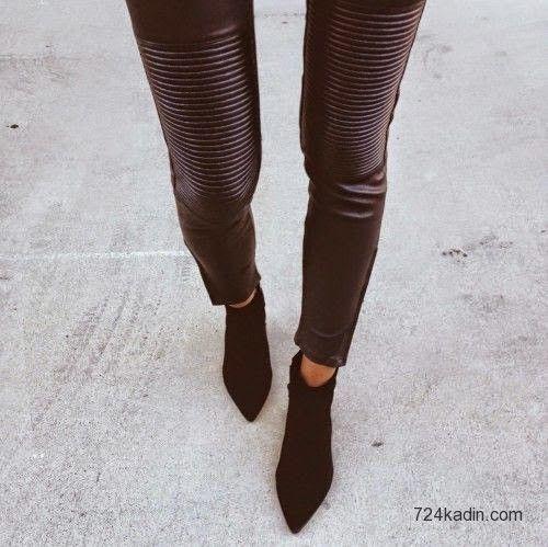 Sokak Modası: Biker Pantalon Modelleri | 7/24 Kadın | Kadınlar İçin Her Şey