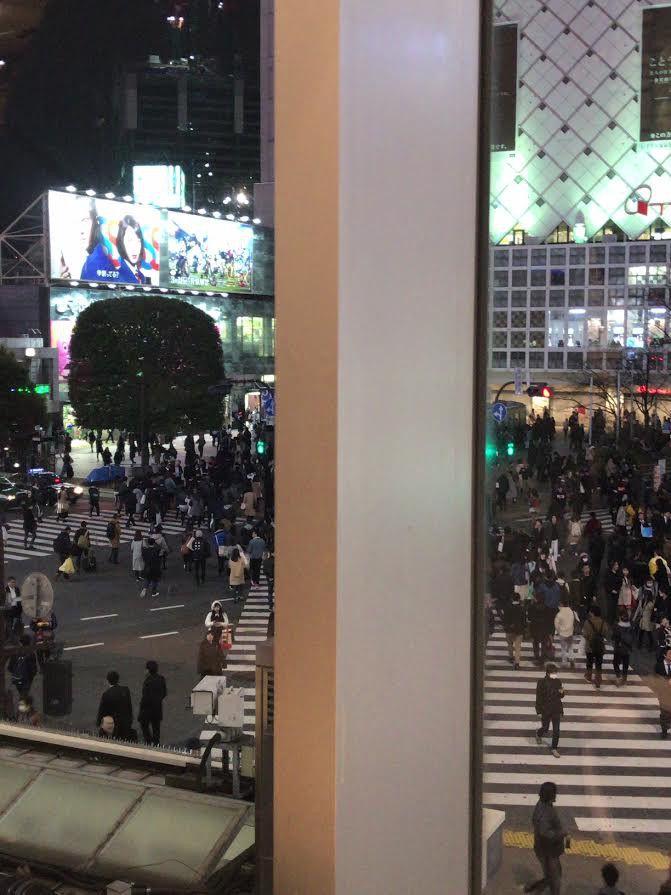 東京生まれの東京育ちだけどしっかり眺めたの初めてかも#渋谷#スクランブル交差点 ...|SHOOP+FACTORY(シュープ・ファクトリー)@オーナーブログ