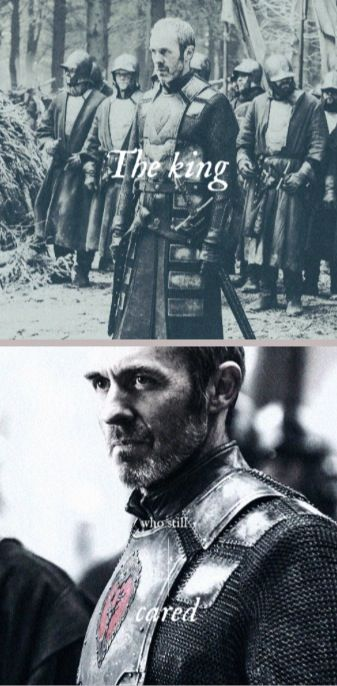 The King who still cared: Stannis Baratheon, Game of Thrones, (by tyaene) I always liked this character, I mean Davos loved him so much how could I not like him, but this was the moment I fell in love with him