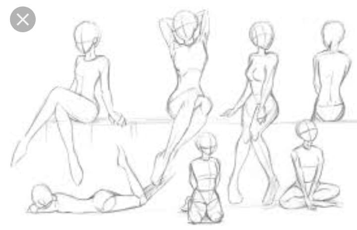 Pin By Yuen Yee Chan On Art Reference Poses In 2020 Drawing Anime Bodies Sketches Drawings