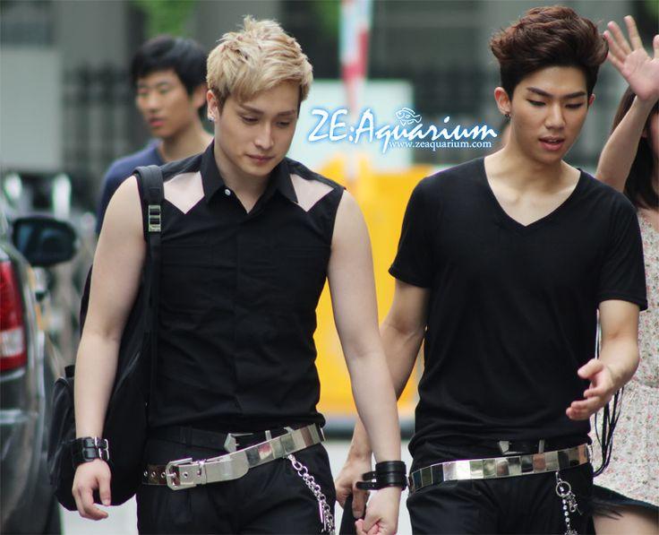 Taehun and Kevin