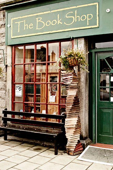 """The Book shop in Wigtown, Dumfries and Galloway is Scotland's biggest second-hand bookshop and """"A work of art"""". Inside, a mile of shelving holds books on all subjects and prices. Local history books are a speciality."""