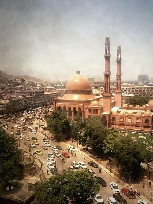 Abulalrhman Khan Mosque - Afghanistan