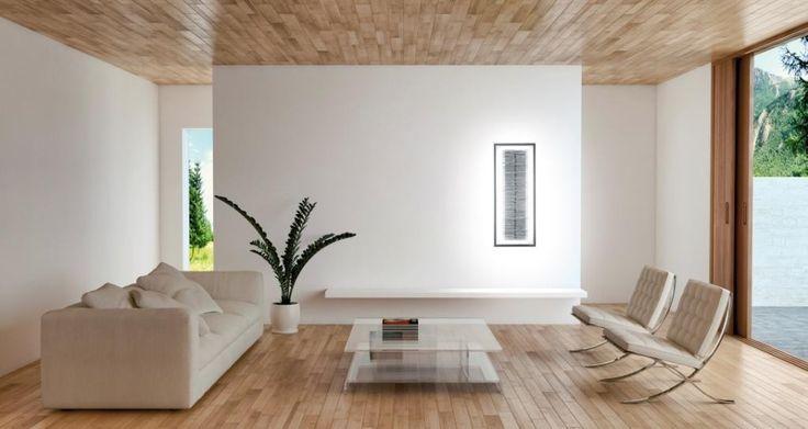 Voyage immobile ... Applique luminaire Led avec sculpture en pierre Olycale. Cadre acier blanc ou noir. Hauteur 104 cm x largeur 42 cm. Puissance d'éclairage : 5400 Lumens. Led blanc chaud 3000K ou blanc neutre 4000K. Option : Réalisable en version RGB (changement de couleur des Led). Télécommande infrarouge permettant d'allumer et de dimmer. A brancher sur un simple raccordement électrique.